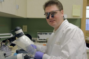 dr gallagher, lab