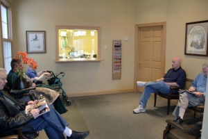 waiting room, office
